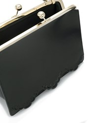 Simone Rocha Scalloped Trim Tote Bag Black