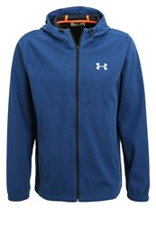 Under Armour Tracksuit Top Blackout Navy Silver Dark Blue