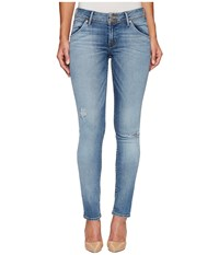 Hudson Collin Mid Rise Skinny Flap Pocket Jeans In Ambitions 2 Ambitions 2 Women's Jeans Blue