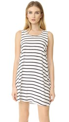 Bb Dakota Shaye Striped Tank Dress Navy