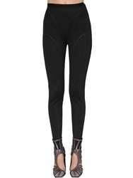 Thierry Mugler Scouba Boosted Leggings W Stirrups Black