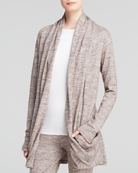 Ugg Australia Olive Slub Knit Draped Shawl Cardigan Java