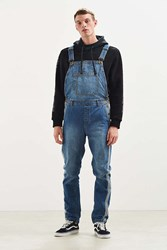 Bdg Side Stripe Denim Overall Vintage Denim Medium