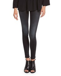 Iro First Faded Skinny Ankle Jeans Black