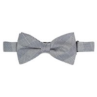Jaeger Prince Of Wales Bow Tie Navy