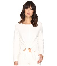 Nicole Miller Roxie Yummy Knit White Women's Clothing