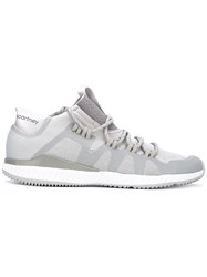 Adidas By Stella Mccartney Lace Up Sneakers Grey
