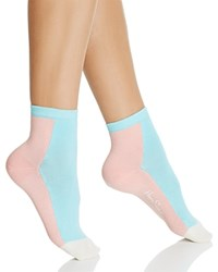 Happy Socks Ankle Blue Colorblock