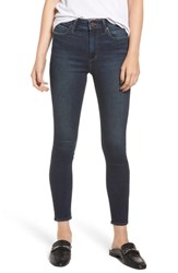 Articles Of Society Heather High Waist Ankle Skinny Jeans Concord
