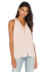 Ramy Brook Patricia Tank Blush