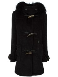 Lgb L.G.B. Hooded Coat Black