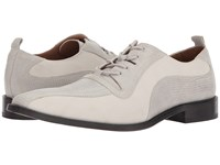 Giorgio Brutini Gloster White Men's Lace Up Wing Tip Shoes
