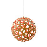 David Trubridge Coral Light Natural Pink 100Cm