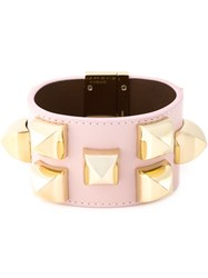 Givenchy Studded Cuff Pink And Purple