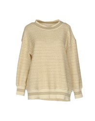 Annie P. Sweaters Ivory