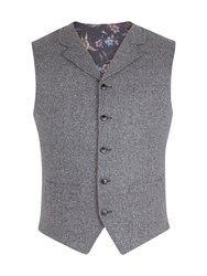 Gibson Men's Grey Donegal Vest Grey
