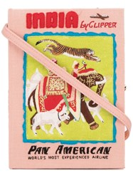 Olympia Le Tan India Book Clutch Pink