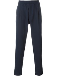 Soulland 'Pino' Drawstring Trousers Blue