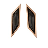 Monique Pean Rhomboid Studs