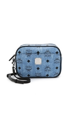 Mcm Camera Cross Body Bag Denim