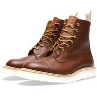 Tricker's End. X Two Tone Capped Super Boot Brown