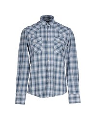 Antony Morato Shirts Shirts Men Blue