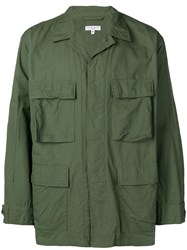 Engineered Garments Oversized Military Jacket Green