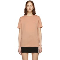 Acne Studios Pink Ellison Face T Shirt