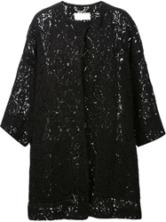Chloe Chloe Lace Coat Black