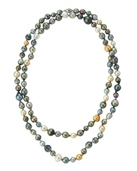 Belpearl Multicolor Tahitian And South Sea Pearl Necklace