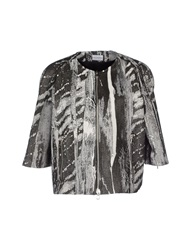 Philosophy Di Alberta Ferretti Jackets Steel Grey