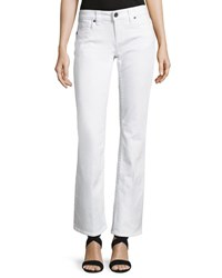 Kut From The Kloth Natalie Flap Pocket Boot Cut Jeans White