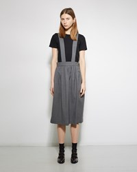 Comme Des Garcons Girl Apron Skirt Top Grey
