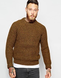 Levi's Vintage Clothing Crew Jumper Ribbed Fisherman Knit Puddle