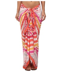 Vera Bradley Sarong Pixie Tribal Women's Clothing Orange