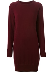 Maison Martin Margiela Maison Margiela Short Sweater Dress Red