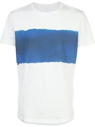 Orlebar Brown Contrast T Shirt White