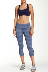 Brooks Urban Run Capri Pant Blue