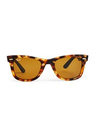 Ray Ban Wayfarer Sunglasses Large Rb2140 1187 Havana Brown
