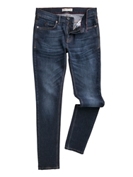 Racing Green Marr Slim Fit Stretch Stone Wash Jeans Denim