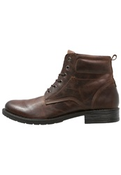 Pier One Laceup Boots Brown