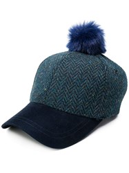 Paul Smith Ps By Knit Cap Blue