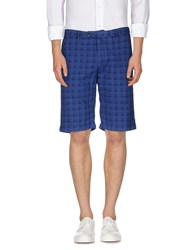 Roda Trousers Bermuda Shorts Men Dark Blue
