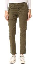 Siwy Max Military Chino Pants Army Green