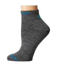 Pearl Izumi Elite Low Wool Sock Shadow Grey Women's Crew Cut Socks Shoes Gray
