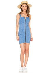 Bardot Winona Denim Dress Oxide Blue