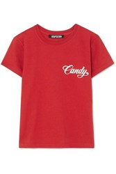 Adaptation Baby Printed Cotton Jersey T Shirt Red