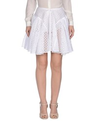 Alaia Alaia Skirts Mini Skirts Women White