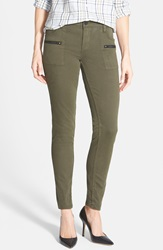 Sanctuary 'Ace Utility' Stretch Skinny Pants Fatigue