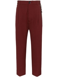 Song For The Mute Cropped Tailored Trousers